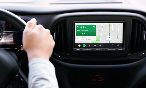 Navigating Android Auto