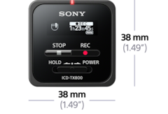Picture of TX800 Digital Voice Recorder TX Series