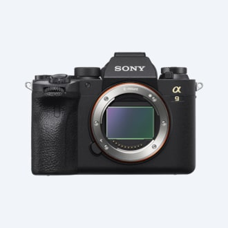 Picture of α9 II full-frame camera with pro capability