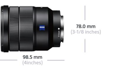 Ø 72mm oscurecidos para Sony vu 16-35mm f4 Vario-Tessar za OSS sel1635z