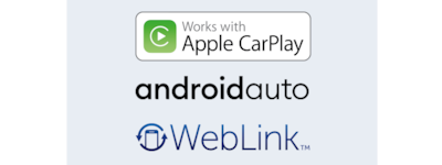 Apple CarPlay, Android Auto и WebLink™