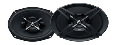 "Images of 16x24cm (6x9"") 3-Way High Power Coaxial Speakers"