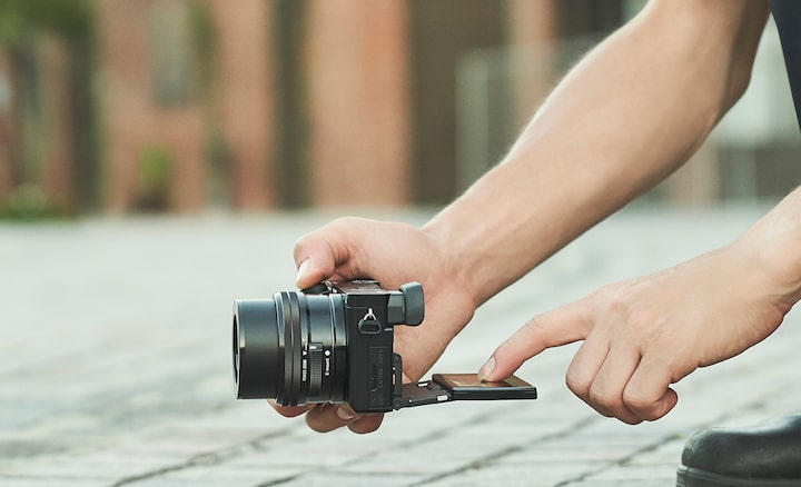 Image of Flexible low-angle shooting