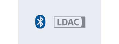 Bluetooth with LDAC logo