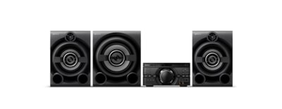 Images de Système audio high-power M80D avec DVD