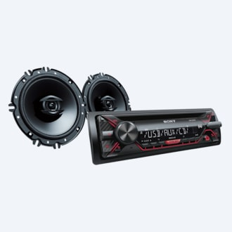 Picture of CD Receiver with 16cm Speakers