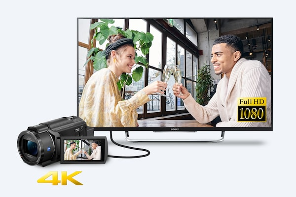 Super-sampled Full HD Playback on non-4K TV or device