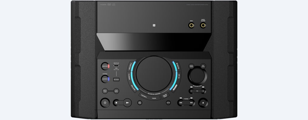 Images de Système audio high-power avec DVD