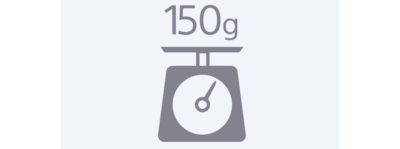 150 grams weight