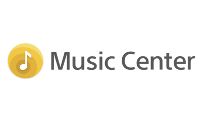Логотип приложения Sony | Music Center