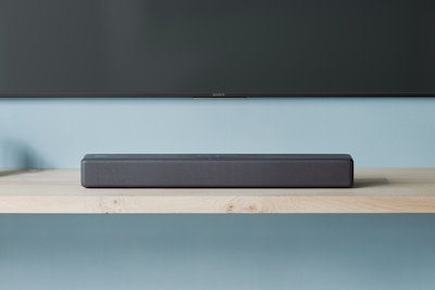 Sony BLUETOOTH soundbar on shelf