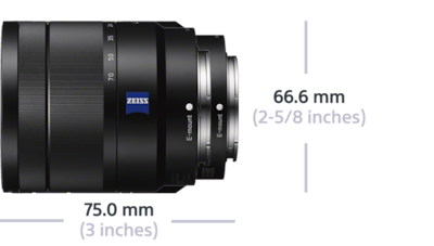 Picture of Vario-Tessar T* E 16-70mm F4 ZA OSS