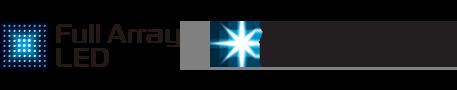 شعارا Full Array LED وX-tended Dynamic Range