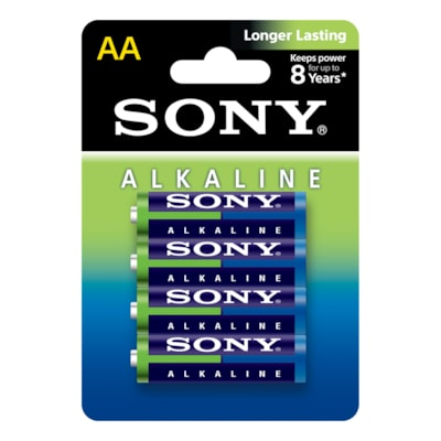 Images of Alkaline Blue Batteries - Size AA-