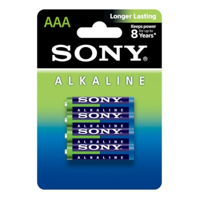 Picture of AM4L-B4D Alkaline Blue Batteries (AAA)